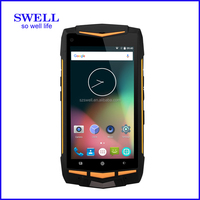 4G Android SWELL V1 IP68 Walkie Talkie octa core dual sim MSM8936 type C USB phone