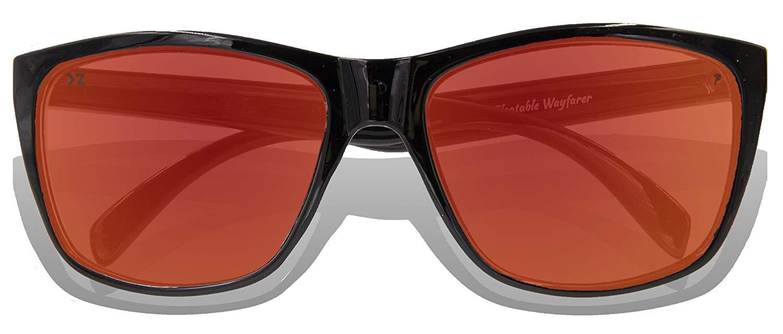 2e3fbd3235 Get Quotations · Floating Sunglasses - Polarized Floatable Wayfarer Shades  by KZ Gear - UV400 - Shades that Float