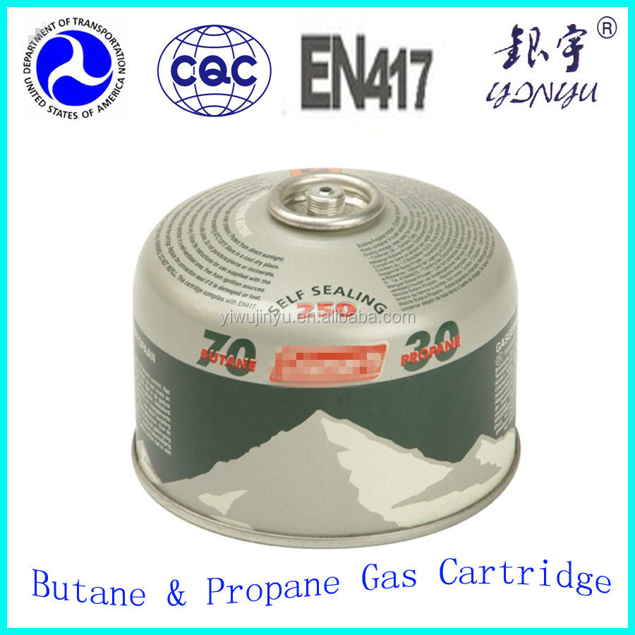 butane gas bottle / propane gas cylinder / lpg gas bottle