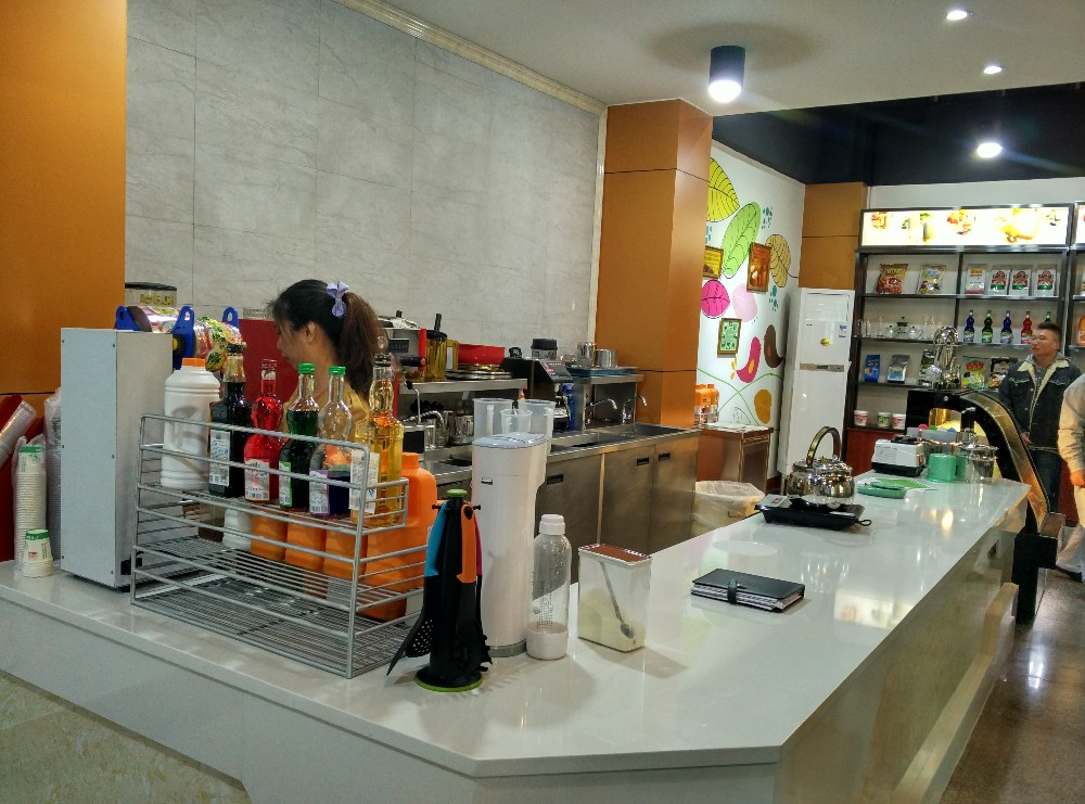 Bubble Tea Counter Bubble Tea Shop Design Buy Bubble Tea