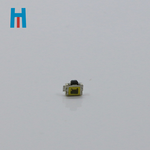 HM Miniature tact switch side press 4 pin SMD/SMT With fixed column