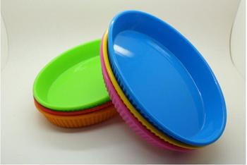 New Products 2016 Non Disposable Silicone Plates