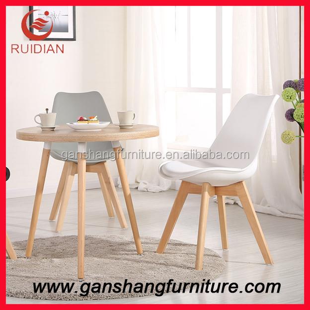 Proveedor de china sillas de pl stico con patas de madera sillas de comedor identificaci n del - Proveedores de sillas ...