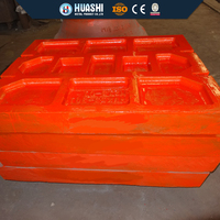 crusher wear parts for crusher types,jaw plate for hot sale