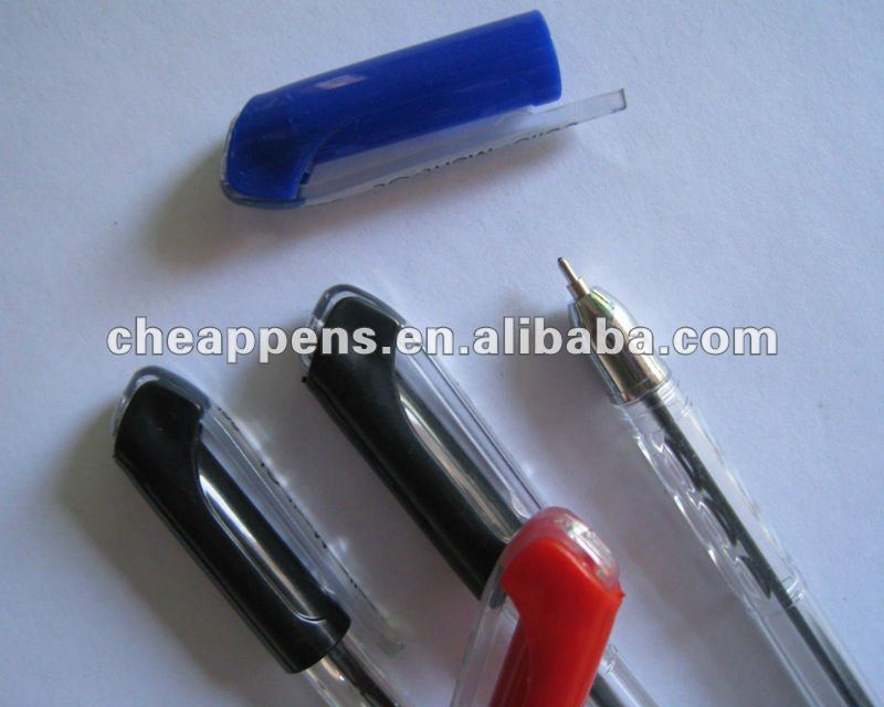 fashion grip plastic frosted pp ballpoint pen