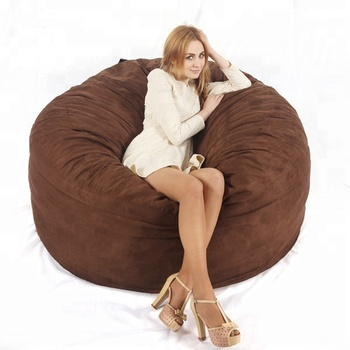 Awe Inspiring Visi Large Giant Bean Bag Sofa 5Ft Round Shape Microsuede Material Sack Beanbag Chair Filled With Shredded Foam Buy Beanbag Chair 5Ft Foam Sack Onthecornerstone Fun Painted Chair Ideas Images Onthecornerstoneorg