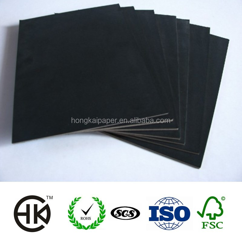 Black Paper Which Is Used For Business Card And Clothing Tags