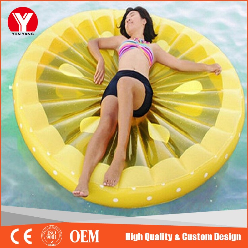 2017 trending products water park equipment inflatable lemon