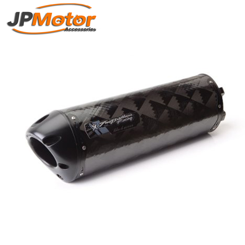 New arrival Hottest ER650 silencer/ Universal motorcycle slip- on 51mm GP exhaust pipe for muffler