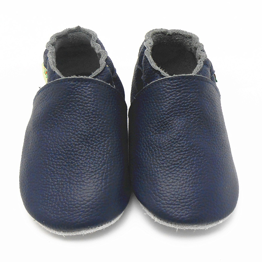 Get Quotations · High Quality Fall Baby Moccasins Genuine Cow Leather Navy  Baby Girls Shoes Newborn Infant Shoes Kids