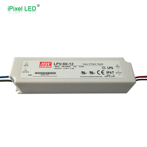 mean well LPV60 12v led switch power supply waterproof