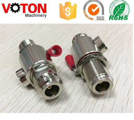 free samples DC-6 GHz Surge arrestor / Lightning Protector with N jack to N jack male plug connector adapter
