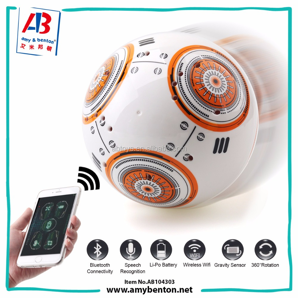 Electronic Pet Toy Smart Sphero Robotic Ball for ISO and Andriod APP system