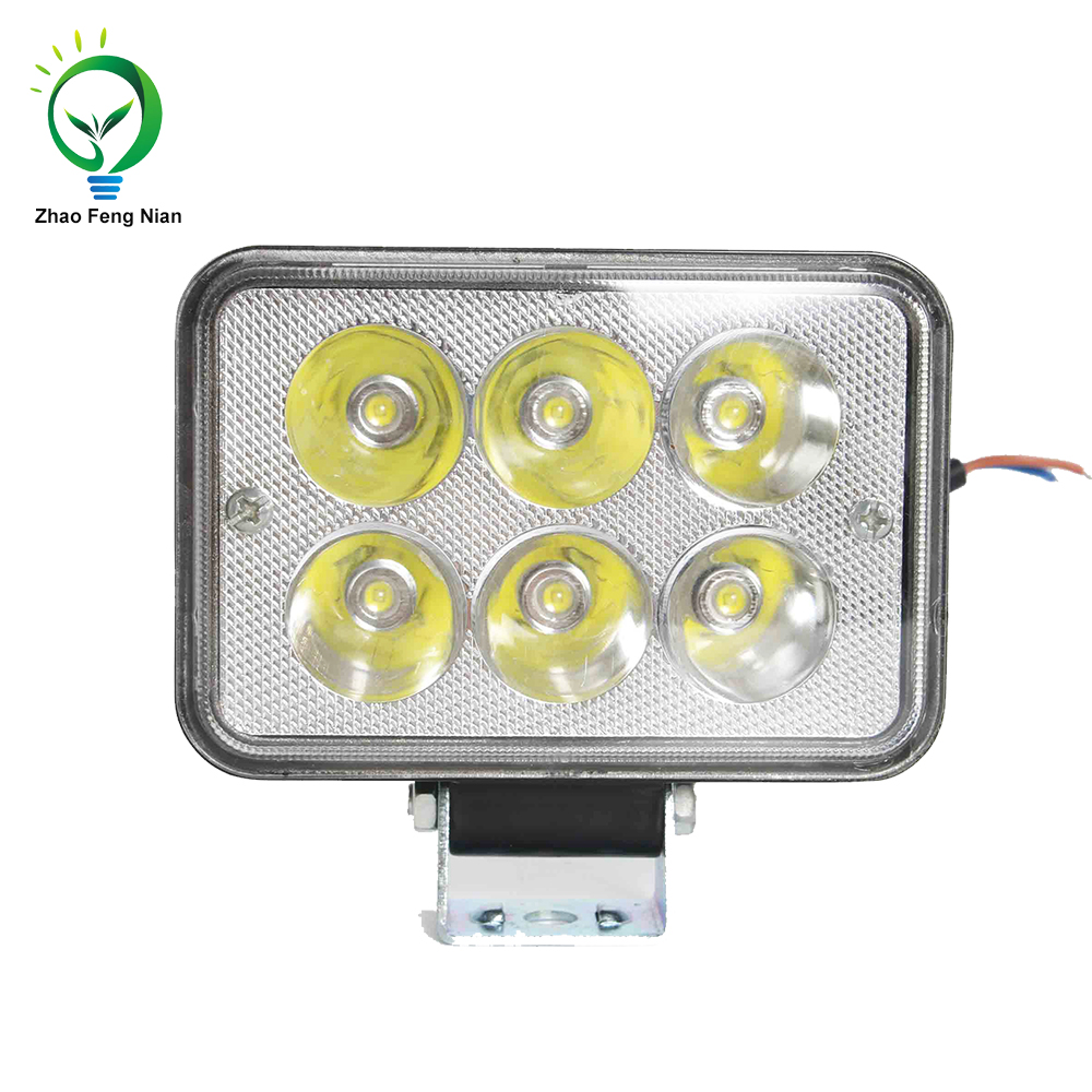 Super bright Universal Die-casting Aluminum housing car motorcycle day light 18W 6 led