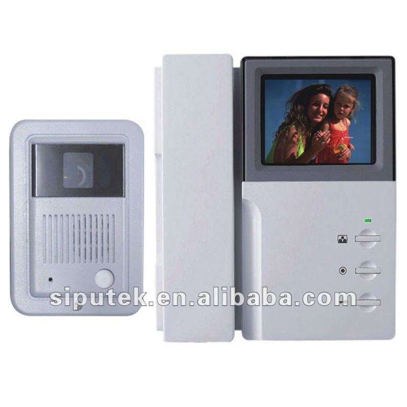 3.5 inch or 4 inch video intercom door phone doorbell outdoor monitor+indoor unit for apartments and villa