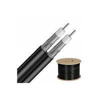 Anealed Copper Inner Conductor Twin RG 6 Coaxial Cables