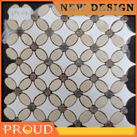 Bianco Carrara White Carrera Marble Mosaic 300*300*9mm
