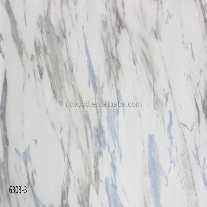 Marble Look Surface 8mm AC4 Kitchen White Wood Laminate Flooring