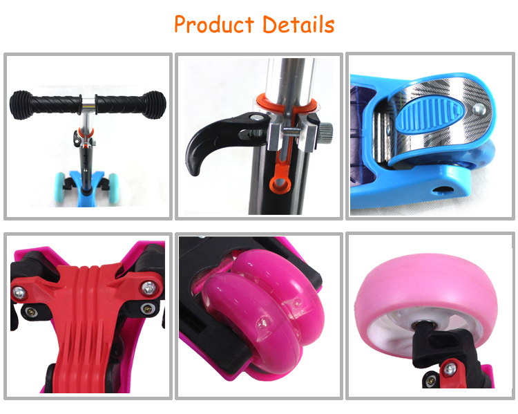 Alibaba trade assurance china factory hot sale cheap price 2 in 1 multifunctional kids boys tri scooter