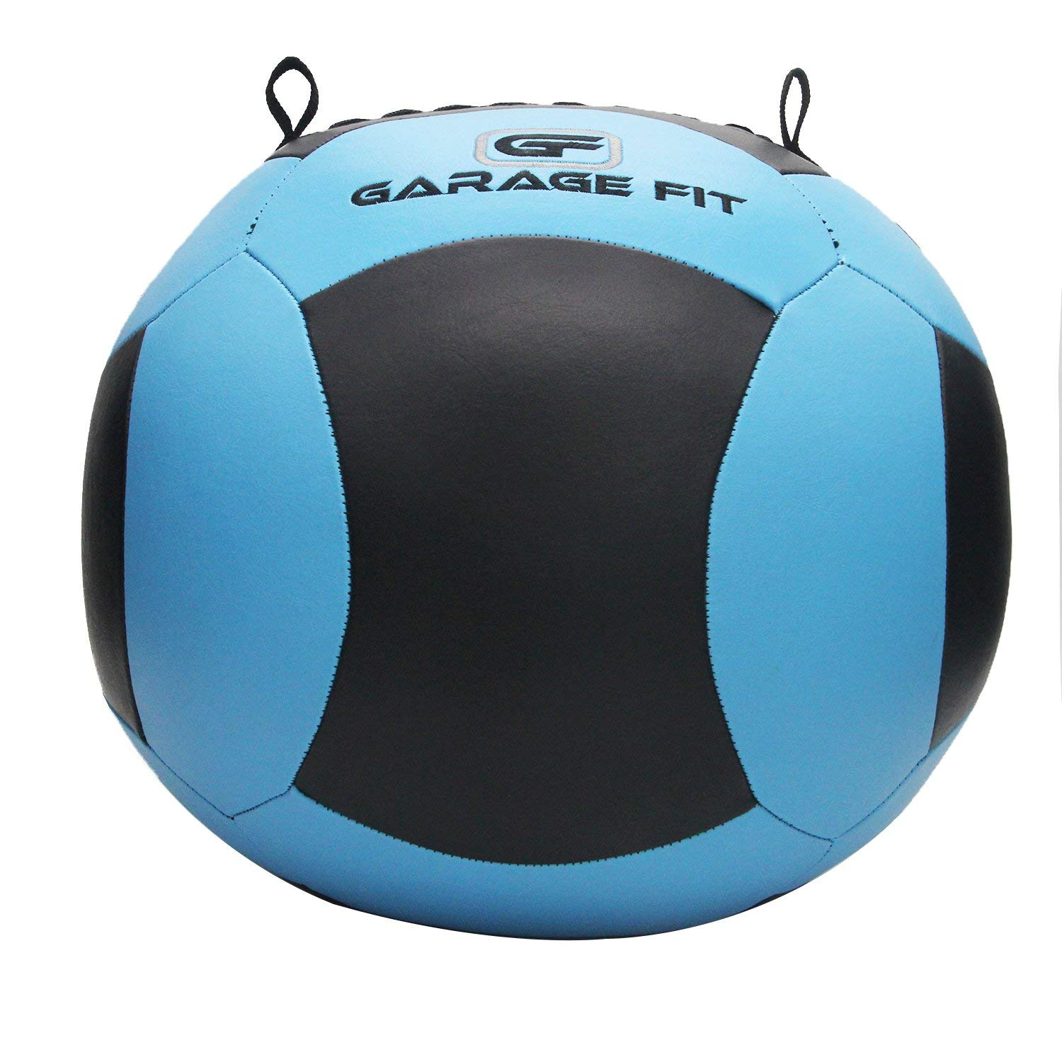 Garage Fit Wall Ball/WallBalls/Soft Medicine Balls/Wall Balls - 4, 6, 8, 10, 12, 14, 16, 18, 20, 25 and 30 Lbs - 1.8, 2.7, 3.6, 4.5, 5.5, 6.4, 7.3, 8.2, 9.1, 11.3, and 13.6 kg