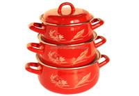 promotional custom logo enamel mug,high quality enamel cookware, wholesale enamel plate decorated