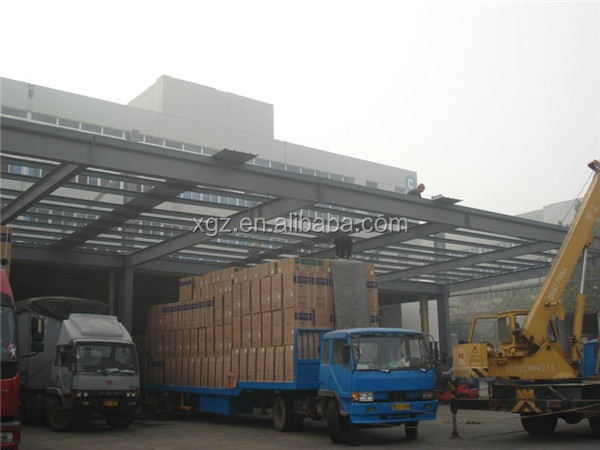prebuilt ISO & CE certificated guangzhou warehouse for renting