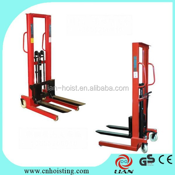 manual hand stacker lifting equipment