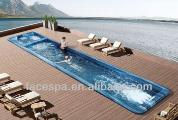 Prefabricated Pools Above Ground Swim Spa Fs-s12 For Resistance Swimming -  Buy Endless Pool,Prefabricated Swimming Pool,Fiberglass Swimming Pool ...