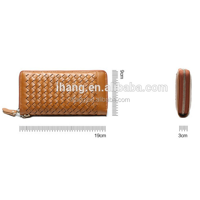 Weaven hand wallet men purse for men