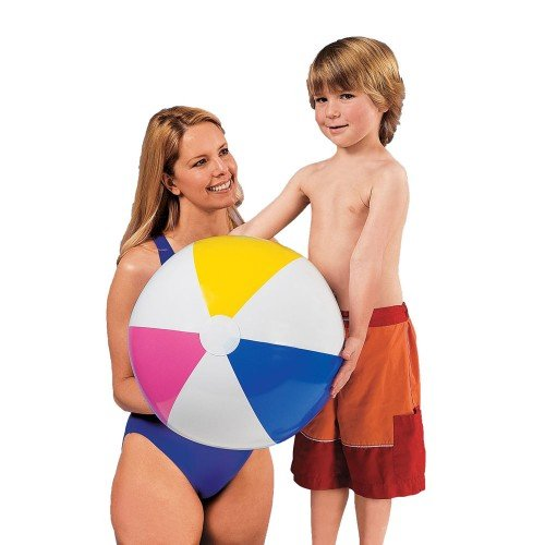 """Intex Inflatable Beach Ball Assorted Colors, 24"""", 59030EP (2-Pack)"""
