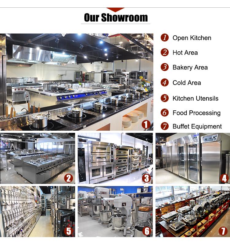 Equipo Comercial de panadería K263, 2 capas, 4 bandejas para Mini hornos de Gas industriales de panadería para Mini panadería