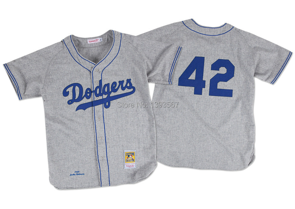 best website 7ac8a 6676d Buy Jackie Robinson 1955 Authentic Jersey Brooklyn Dodgers ...