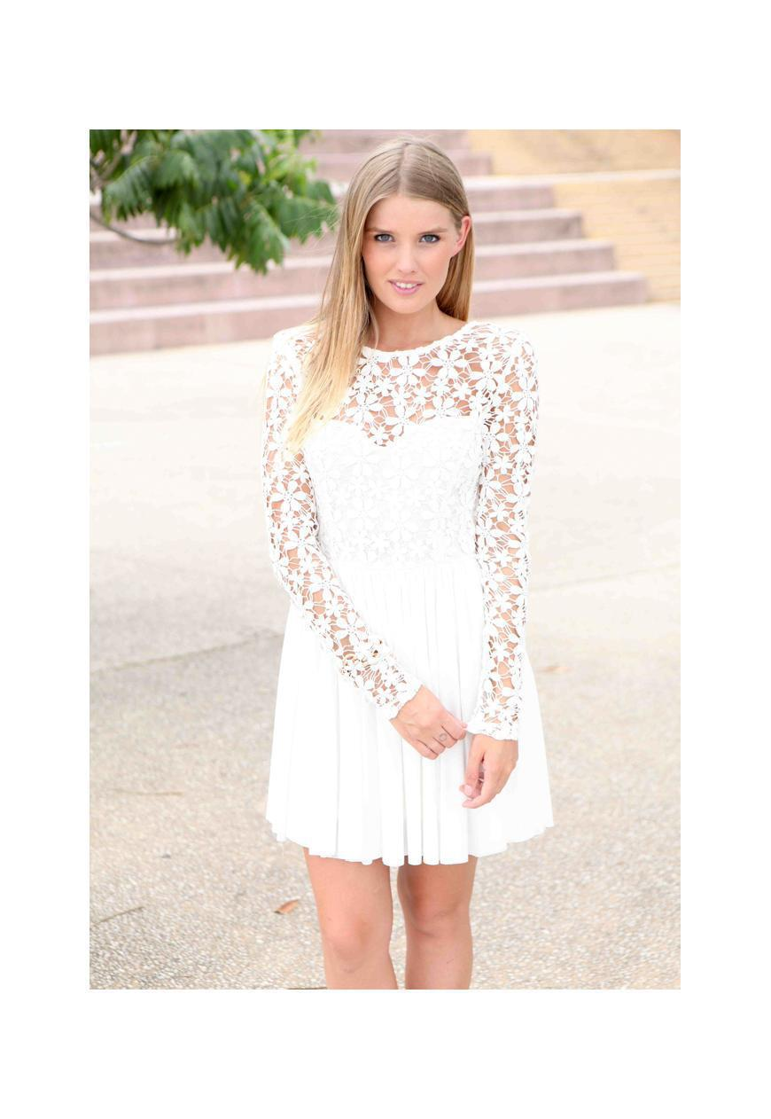Cheap Long White Graduation Dresses, find Long White Graduation ...