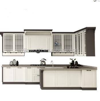 factory direct sales modern kitchen cabinet buy uv finished door