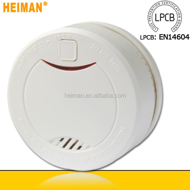 2016 Heiman Brand Fire Alarm Battery Smoke Detector With Beeping