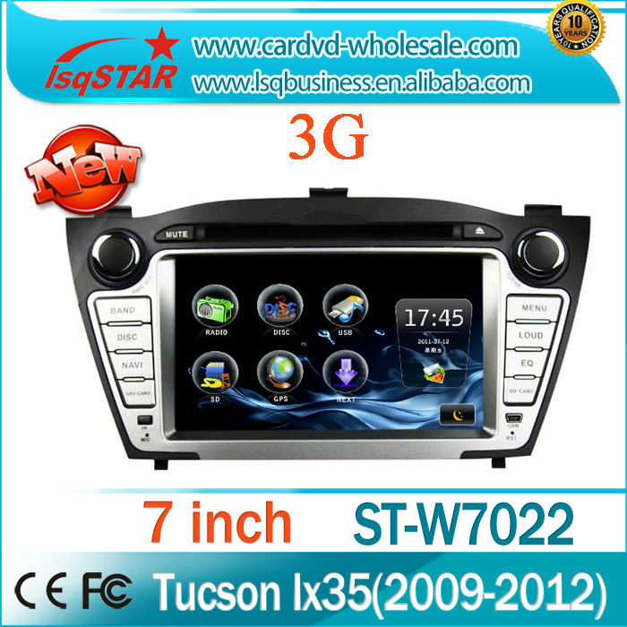 Android Hyundai IX35/ Tuscon Car Radio Multimedia GPS Navigation 4G Flash 3G WIFI full functions