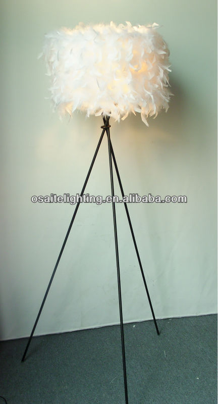 White Modern Hotel Chrome Standing Lava Tripod Led Floor Lamp ...