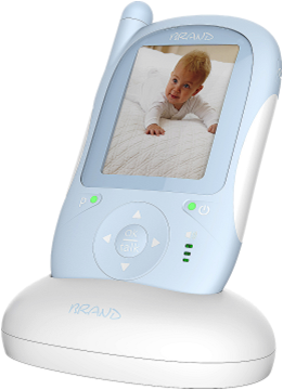 2.4ghz night vision digital wireless baby video&audio monitor