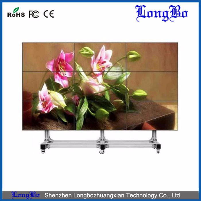 Cheap lg brand 55inch 5.3mm bezel lcd video wall led backlight with best quality and low price