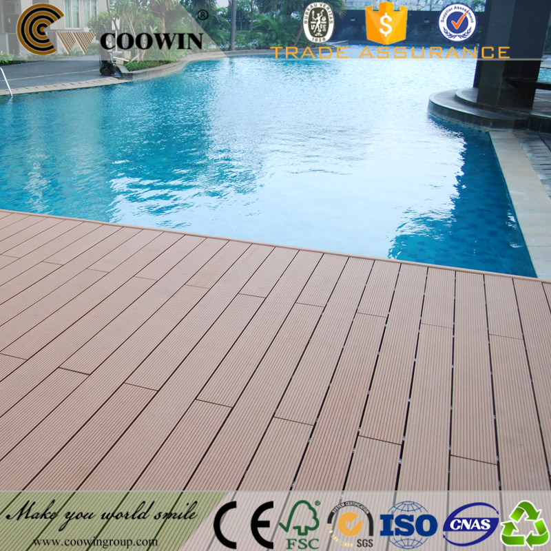 High quality stylish greenhouse wpc floor covering