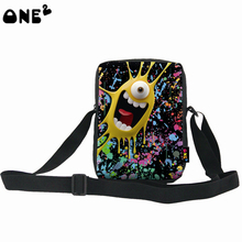 ONE2 fashion lovely school two sided shoulder bag for pupils