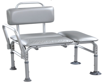 Composite Padded Bariatric Transfer Bench Shower Chair Durable