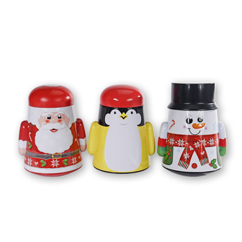 2019 New Metal Christmas Canister Gifts Candy Tin Box Sets