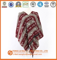 Promotion woven 100% acrylic scarf hat and gloves sets