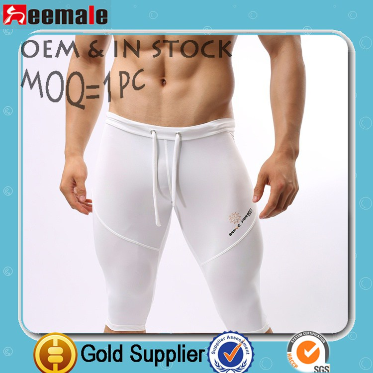2014 Compression Shorts Man Running Shorts Sports Fitness Running Wear SB2221
