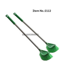 HQ2112 newly developed with stainless steel handle for heavy duty cleaning PP toilet brush
