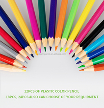 Factory directly sell of DS-281 colored pencils lead with logo