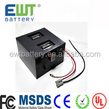 In Lifepo4 12v 70ah Lithium Rechargeable Electric Bicycle Battery Pack For Medical Equipment/ Scooter Exquisite Workmanship