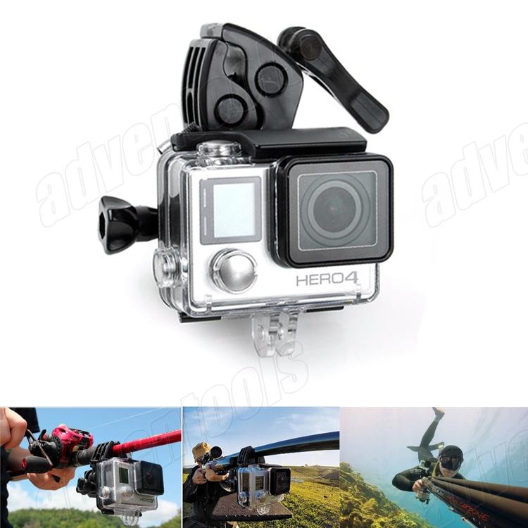 Hot Sell Multi-purpose Mount Holder Bracket Basic Kit For Gopro Hero3/2 + RD31/