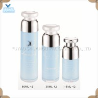 5ml/5g Plastic (pp) Lotion Bottle With Crimp Pump And Natural Cap ...